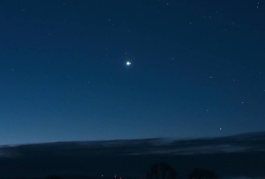 Sternwarte Aachen De Konjunktion Von Venus Und Saturn