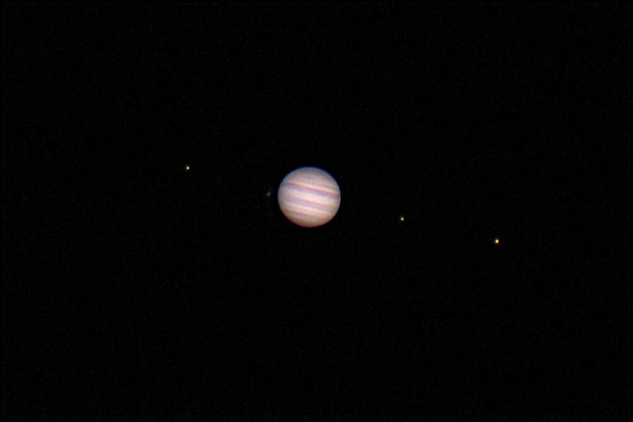 Jupiters Bilder von Amateuren